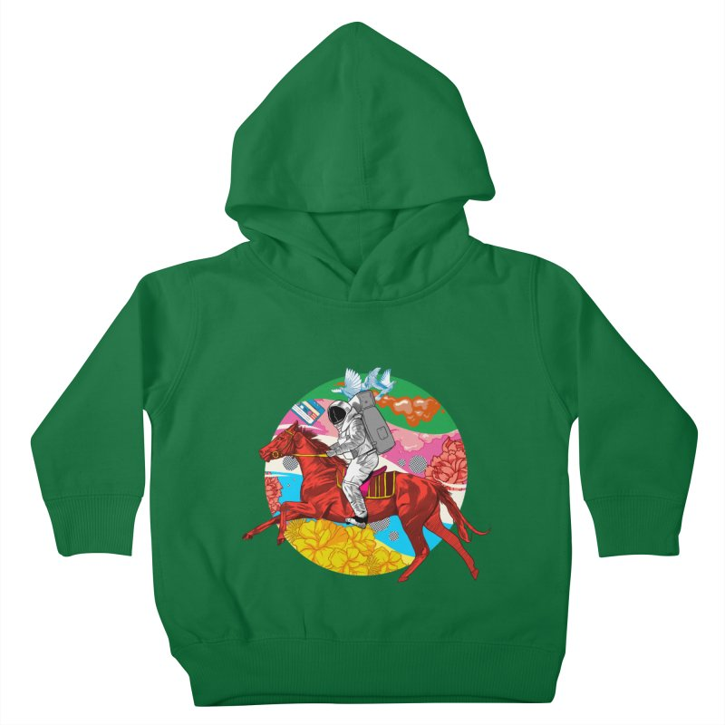 Psychedelic Space Journey Kids Toddler Pullover Hoody by RJ Artworks's Artist Shop