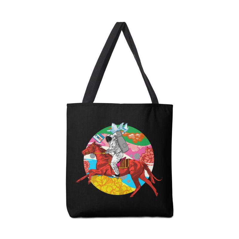 Psychedelic Space Journey Accessories Tote Bag Bag by RJ Artworks's Artist Shop