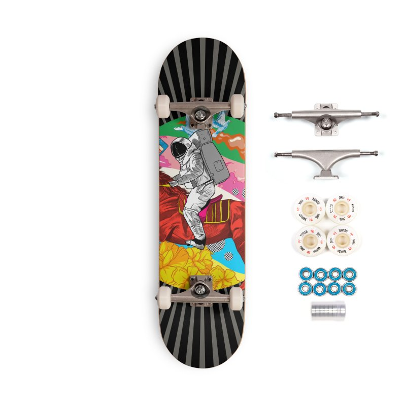 Psychedelic Space Journey Accessories Complete - Premium Skateboard by RJ Artworks's Artist Shop