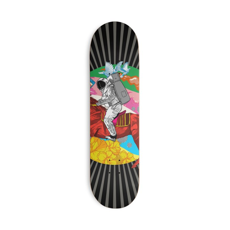 Psychedelic Space Journey Accessories Deck Only Skateboard by RJ Artworks's Artist Shop