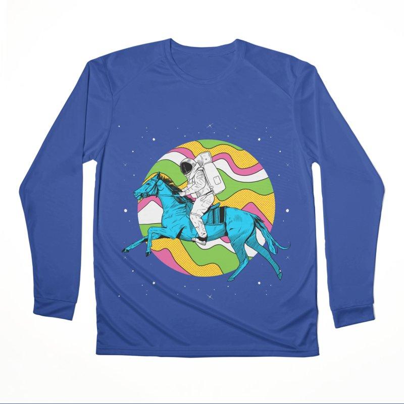 Space Cowboy Women's Performance Unisex Longsleeve T-Shirt by RJ Artworks's Artist Shop