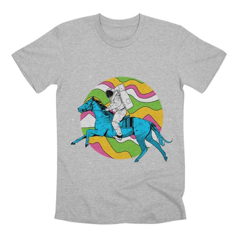 Space Cowboy Men's Premium T-Shirt by RJ Artworks's Artist Shop
