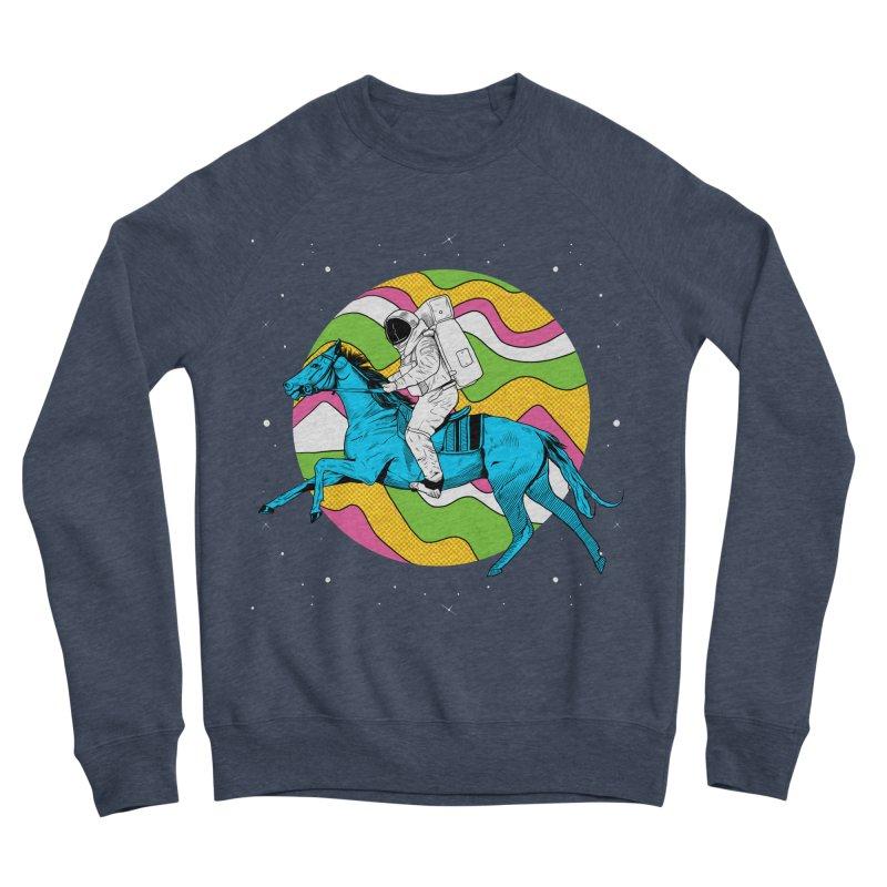 Space Cowboy Men's Sponge Fleece Sweatshirt by RJ Artworks's Artist Shop