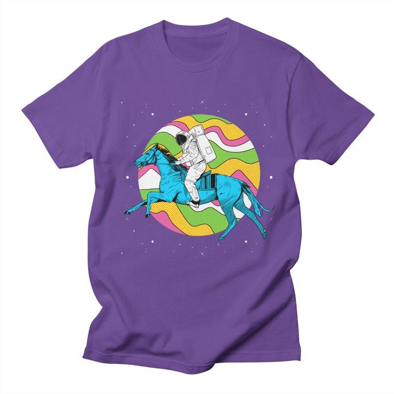 Space Cowboy Men's Regular T-Shirt by RJ Artworks's Artist Shop