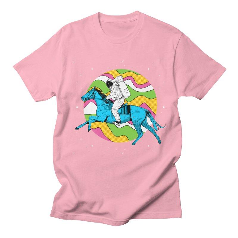 Space Cowboy Women's Regular Unisex T-Shirt by RJ Artworks's Artist Shop