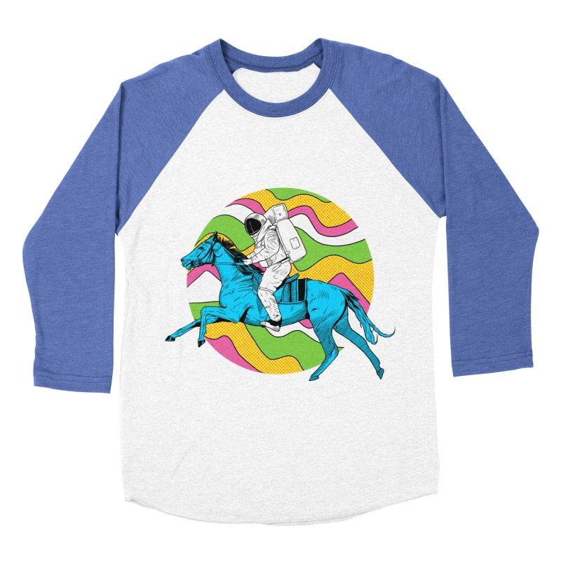 Space Cowboy Women's Baseball Triblend Longsleeve T-Shirt by RJ Artworks's Artist Shop