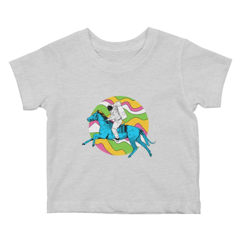 Space Cowboy Kids Baby T-Shirt by RJ Artworks's Artist Shop