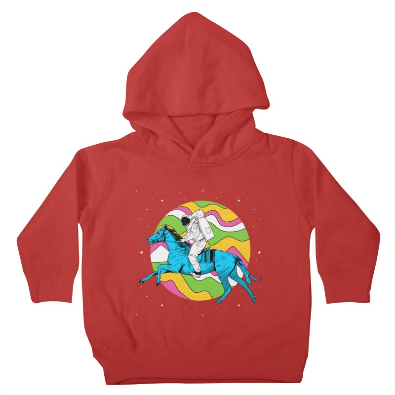 Space Cowboy Kids Toddler Pullover Hoody by RJ Artworks's Artist Shop