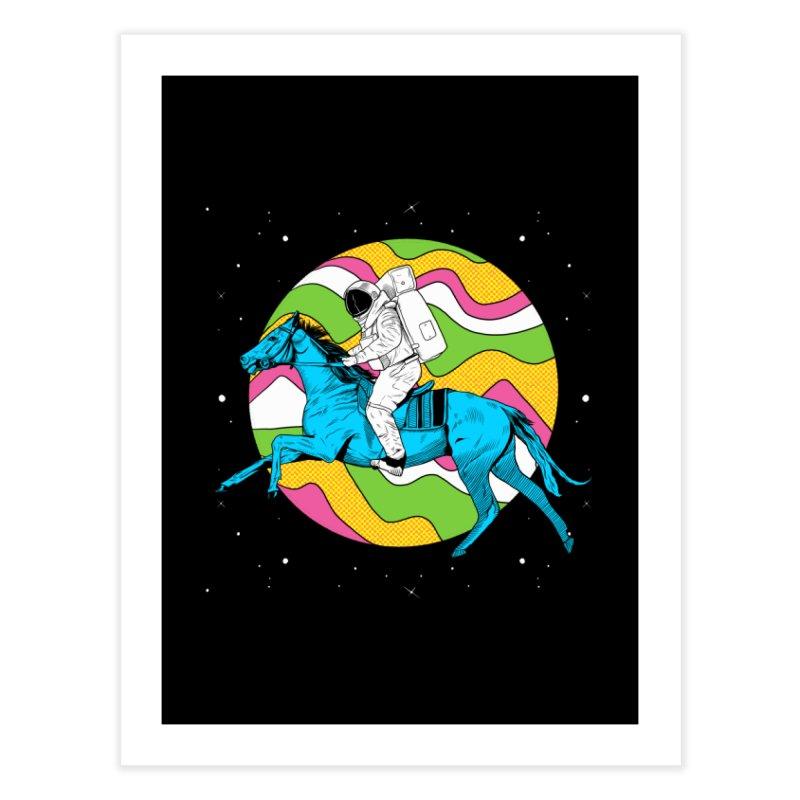 Space Cowboy Home Fine Art Print by RJ Artworks's Artist Shop