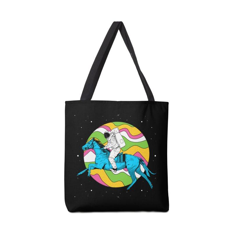 Space Cowboy Accessories Tote Bag Bag by RJ Artworks's Artist Shop