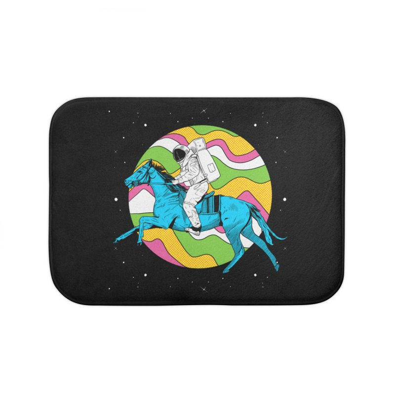 Space Cowboy Home Bath Mat by RJ Artworks's Artist Shop