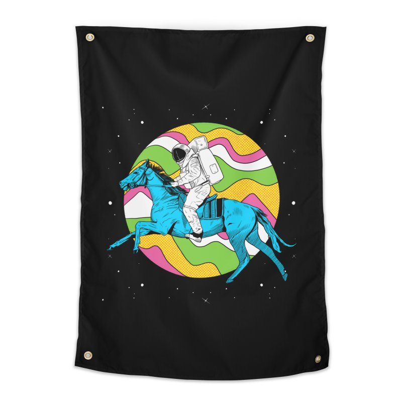 Space Cowboy Home Tapestry by RJ Artworks's Artist Shop