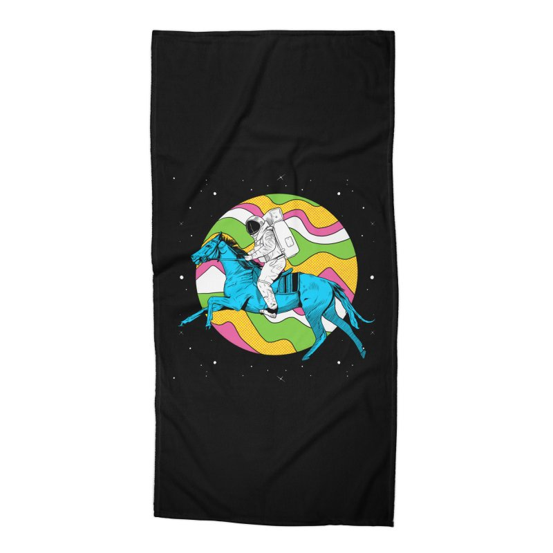 Space Cowboy Accessories Beach Towel by RJ Artworks's Artist Shop