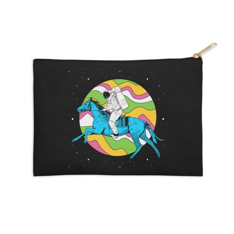 Space Cowboy Accessories Zip Pouch by RJ Artworks's Artist Shop