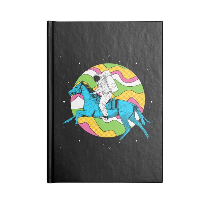 Space Cowboy Accessories Lined Journal Notebook by RJ Artworks's Artist Shop