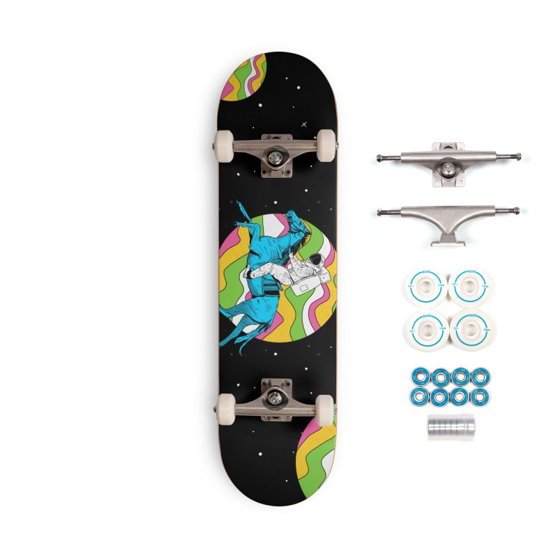Space Cowboy Accessories Complete - Basic Skateboard by RJ Artworks's Artist Shop