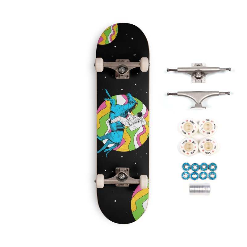 Space Cowboy Accessories Complete - Premium Skateboard by RJ Artworks's Artist Shop