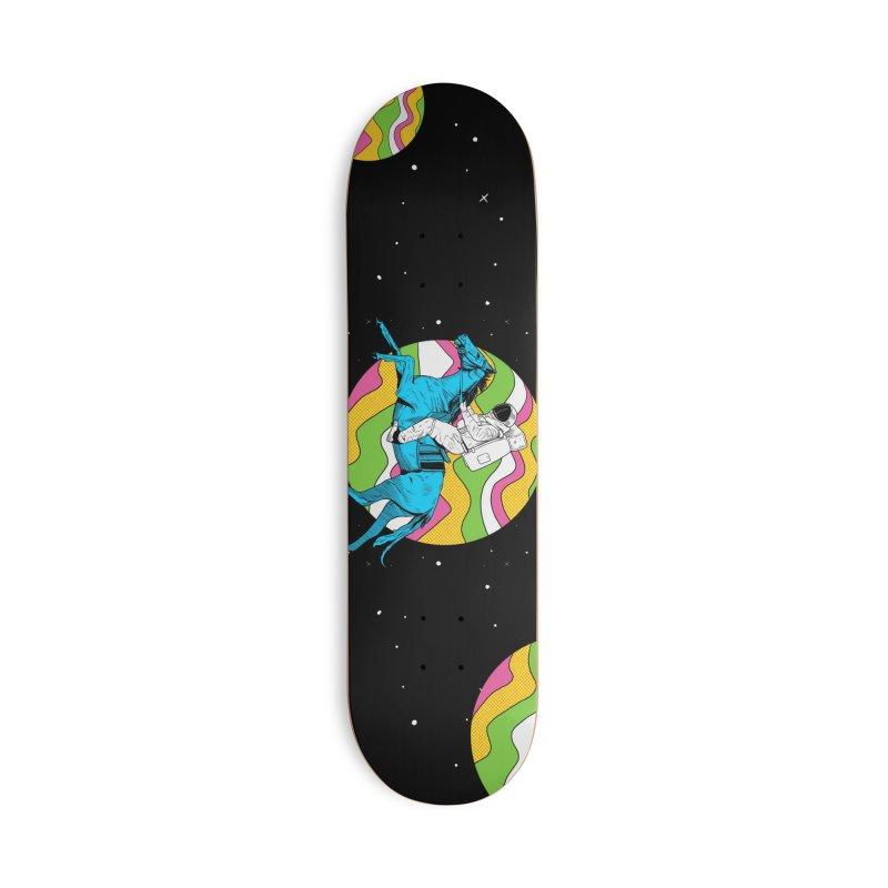 Space Cowboy Accessories Skateboard by RJ Artworks's Artist Shop