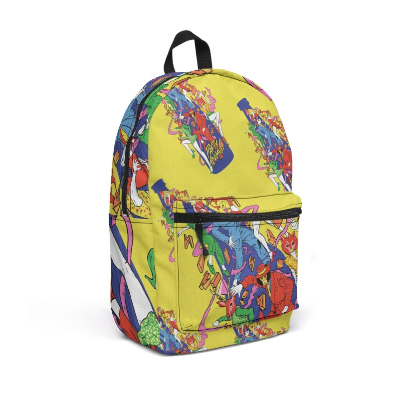 Party Animals Accessories Backpack Bag by RJ Artworks's Artist Shop