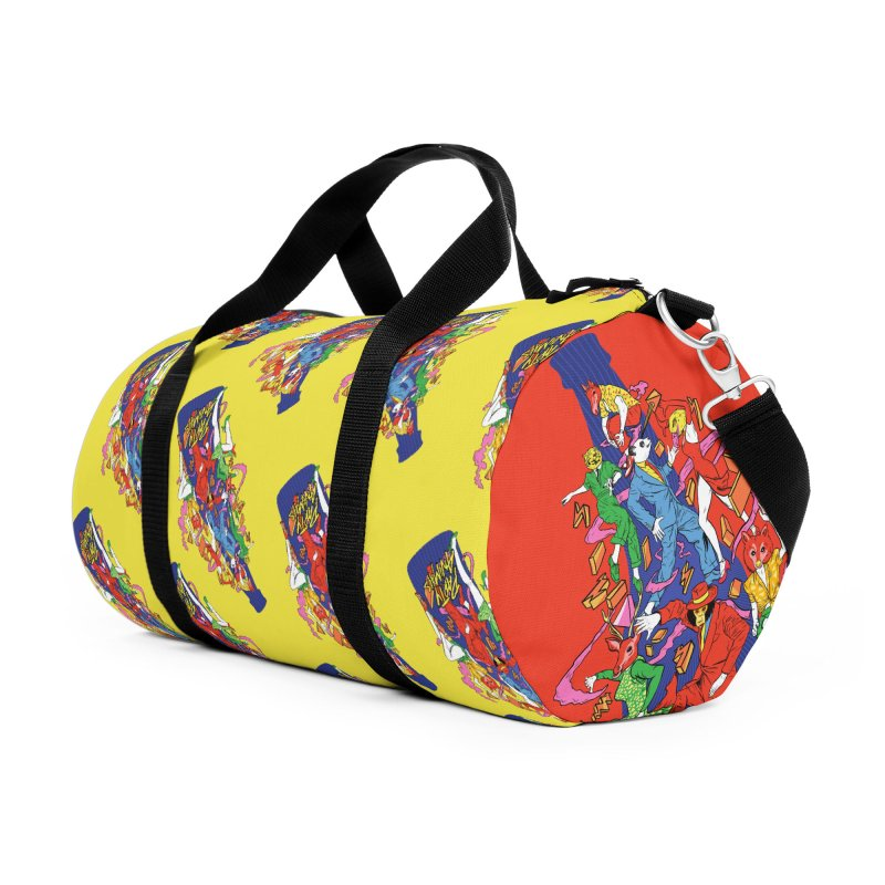 Party Animals Accessories Duffel Bag Bag by RJ Artworks's Artist Shop