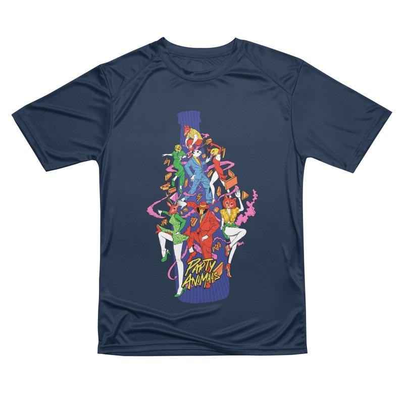 Party Animals Men's Performance T-Shirt by RJ Artworks's Artist Shop