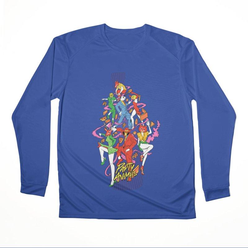 Party Animals Women's Performance Unisex Longsleeve T-Shirt by RJ Artworks's Artist Shop