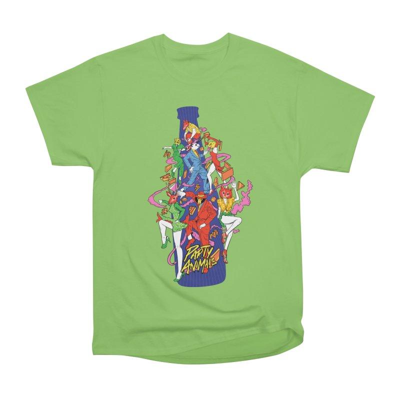 Party Animals Men's Heavyweight T-Shirt by RJ Artworks's Artist Shop