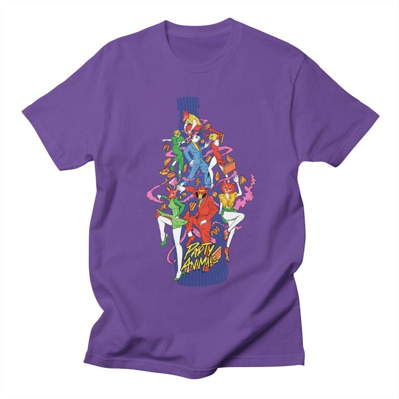 Party Animals Women's Regular Unisex T-Shirt by RJ Artworks's Artist Shop