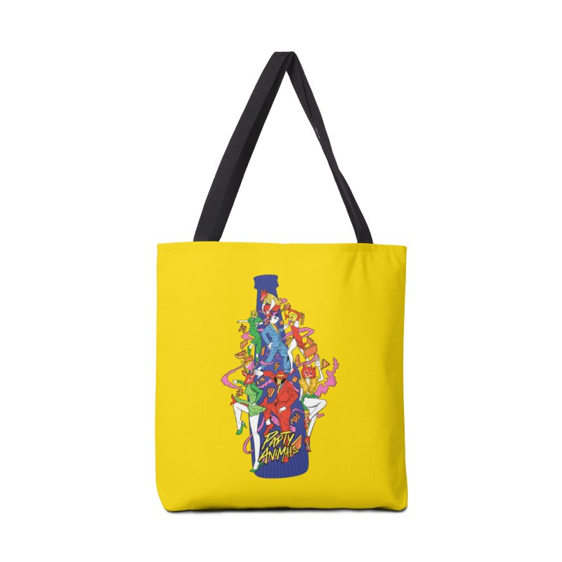 Party Animals Accessories Bag by RJ Artworks's Artist Shop