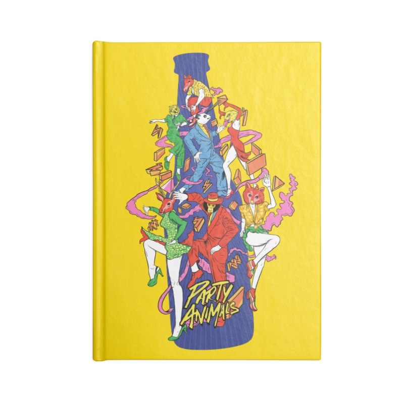 Party Animals Accessories Notebook by RJ Artworks's Artist Shop