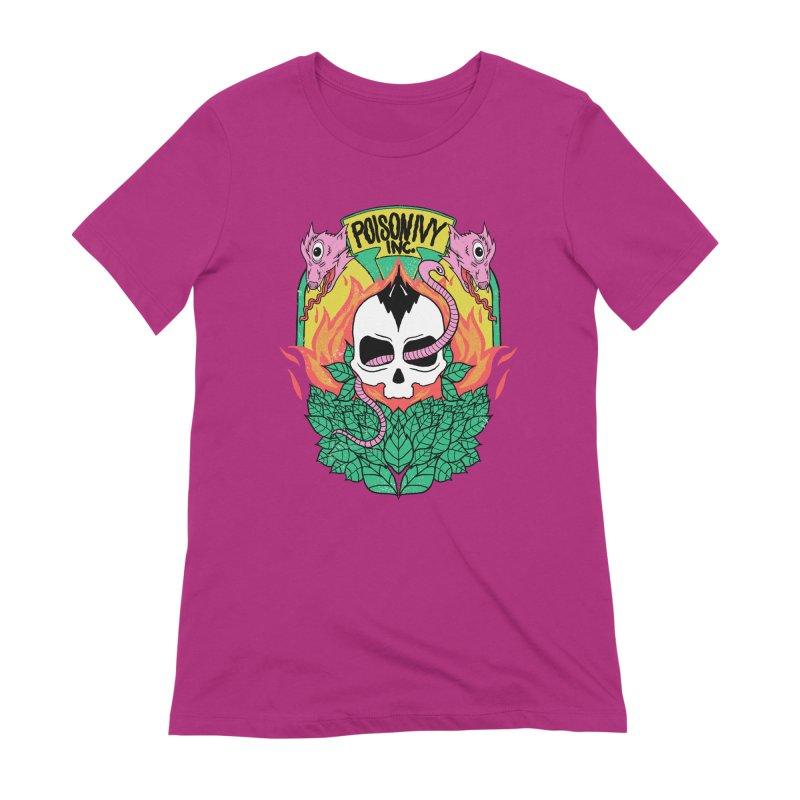 Poison Ivy Inc. Women's Extra Soft T-Shirt by RJ Artworks's Artist Shop
