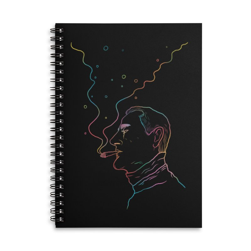 Sky Falling Accessories Lined Spiral Notebook by RJ Artworks's Artist Shop