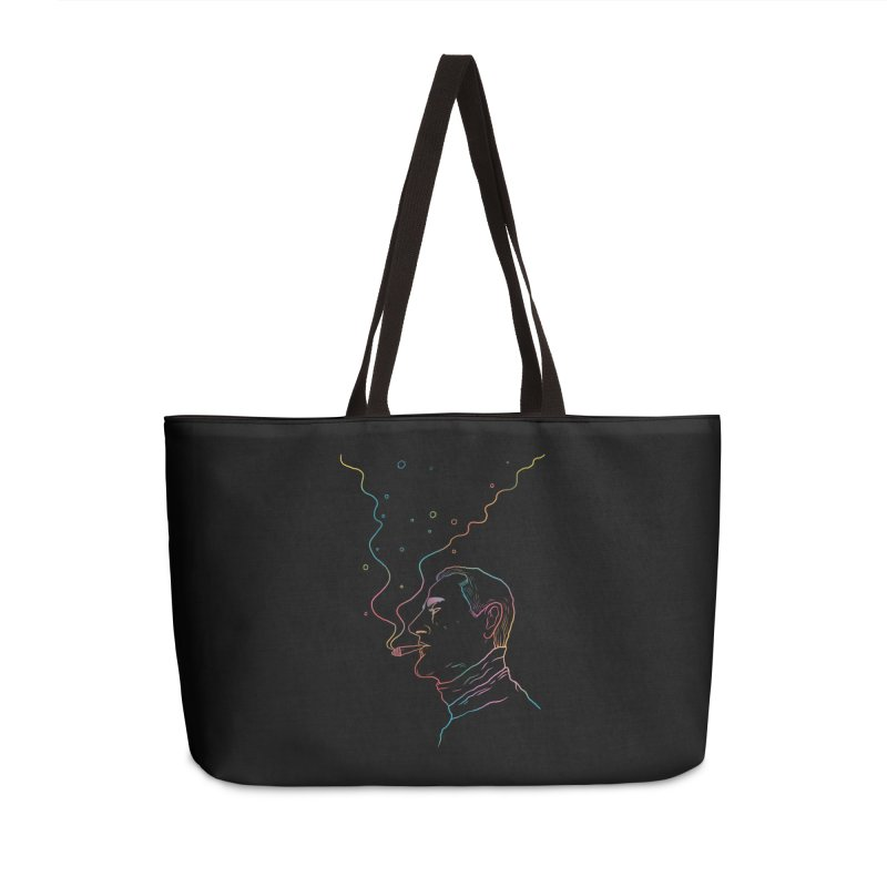 Sky Falling Accessories Weekender Bag Bag by RJ Artworks's Artist Shop