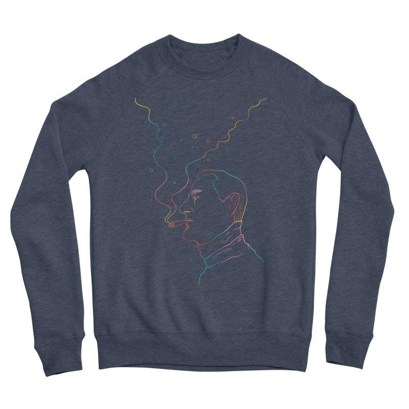 Sky Falling Men's Sponge Fleece Sweatshirt by RJ Artworks's Artist Shop