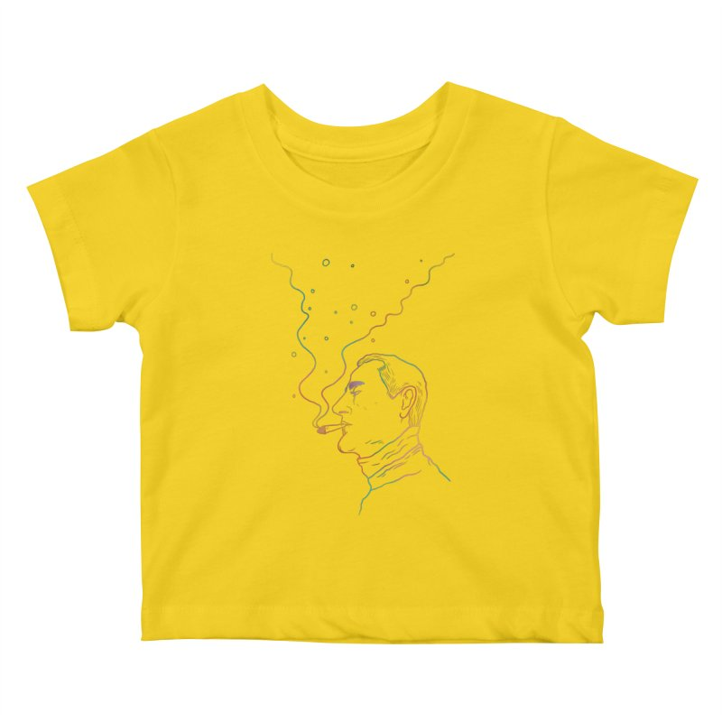 Sky Falling Kids Baby T-Shirt by RJ Artworks's Artist Shop