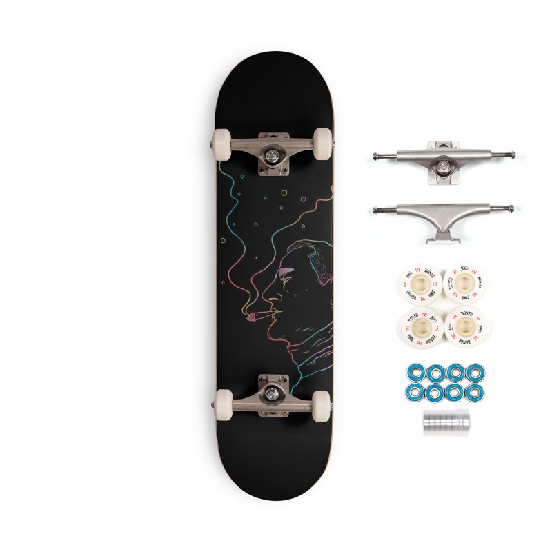 Sky Falling Accessories Complete - Premium Skateboard by RJ Artworks's Artist Shop