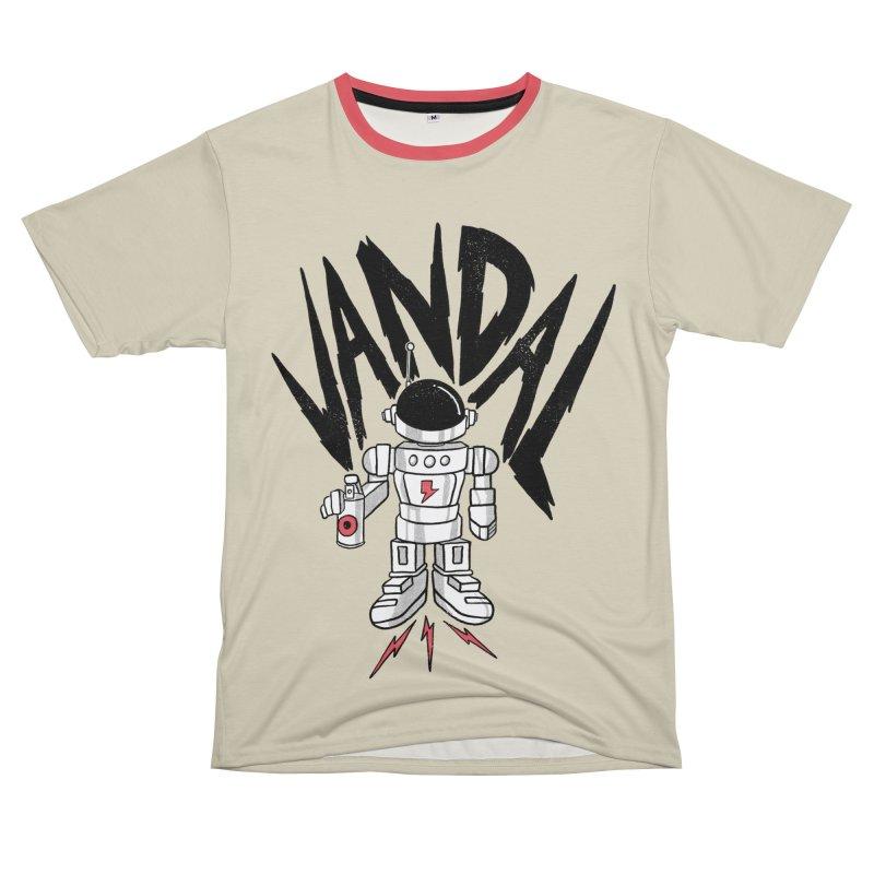Vandal Men's T-Shirt Cut & Sew by RJ Artworks's Artist Shop