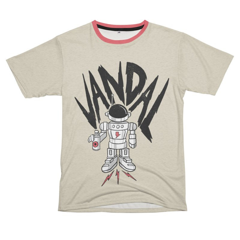 Vandal Women's Unisex French Terry T-Shirt Cut & Sew by RJ Artworks's Artist Shop