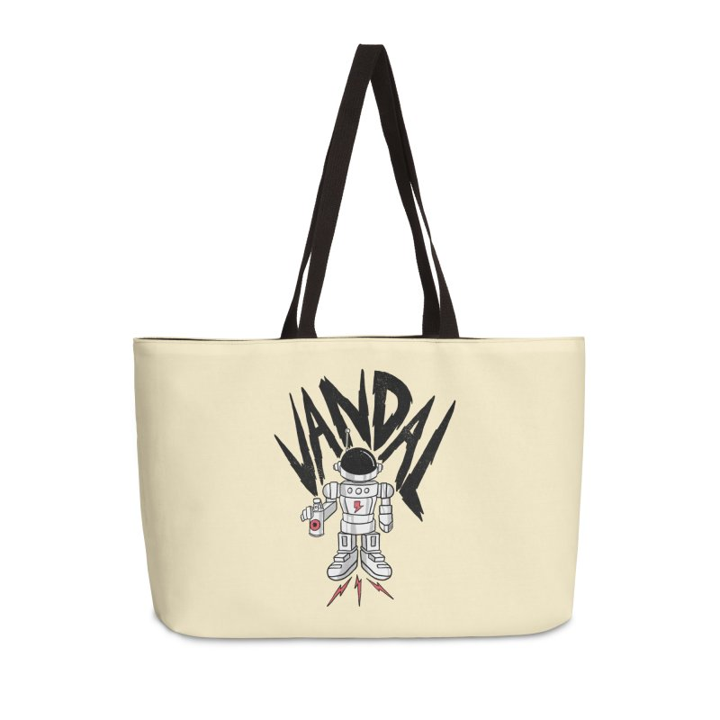 Vandal Accessories Weekender Bag Bag by RJ Artworks's Artist Shop