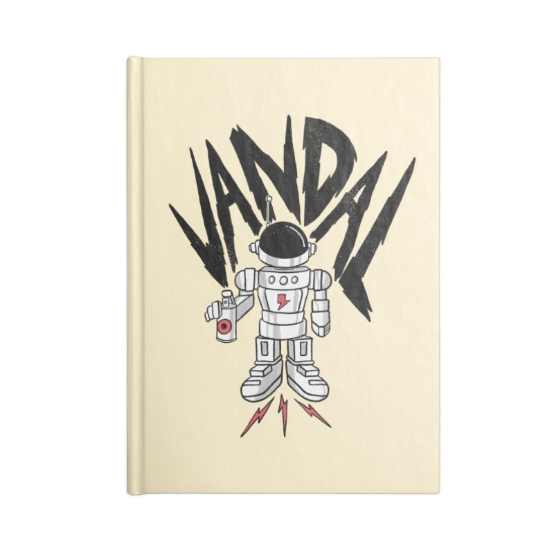 Vandal Accessories Lined Journal Notebook by RJ Artworks's Artist Shop