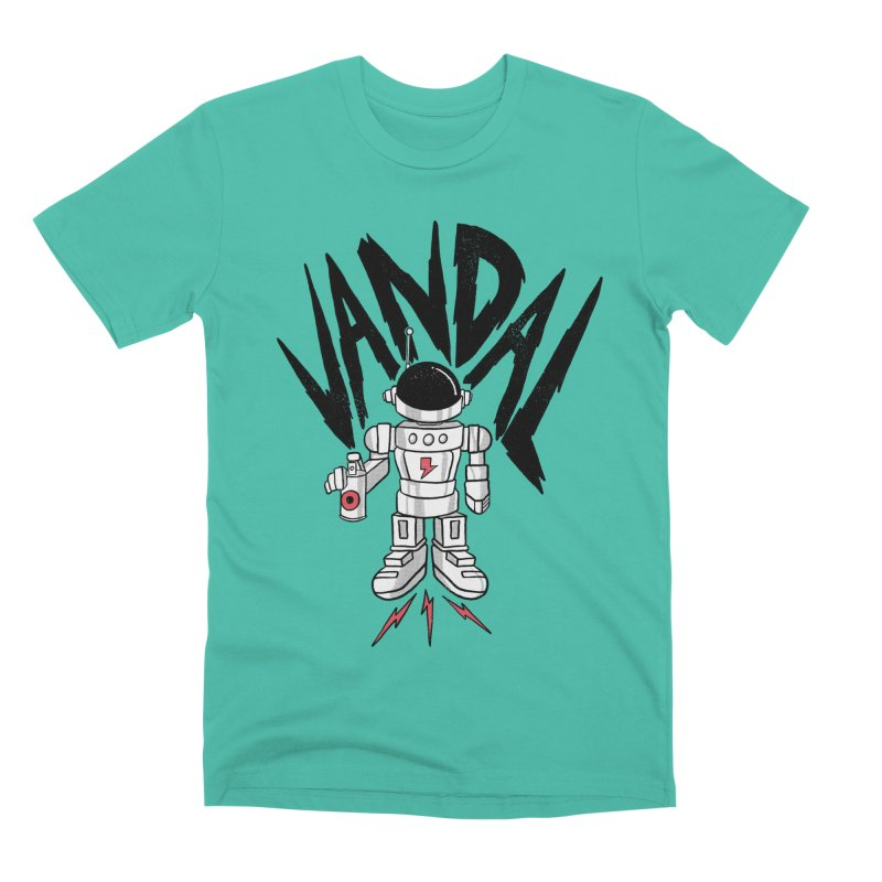 Vandal Men's Premium T-Shirt by RJ Artworks's Artist Shop