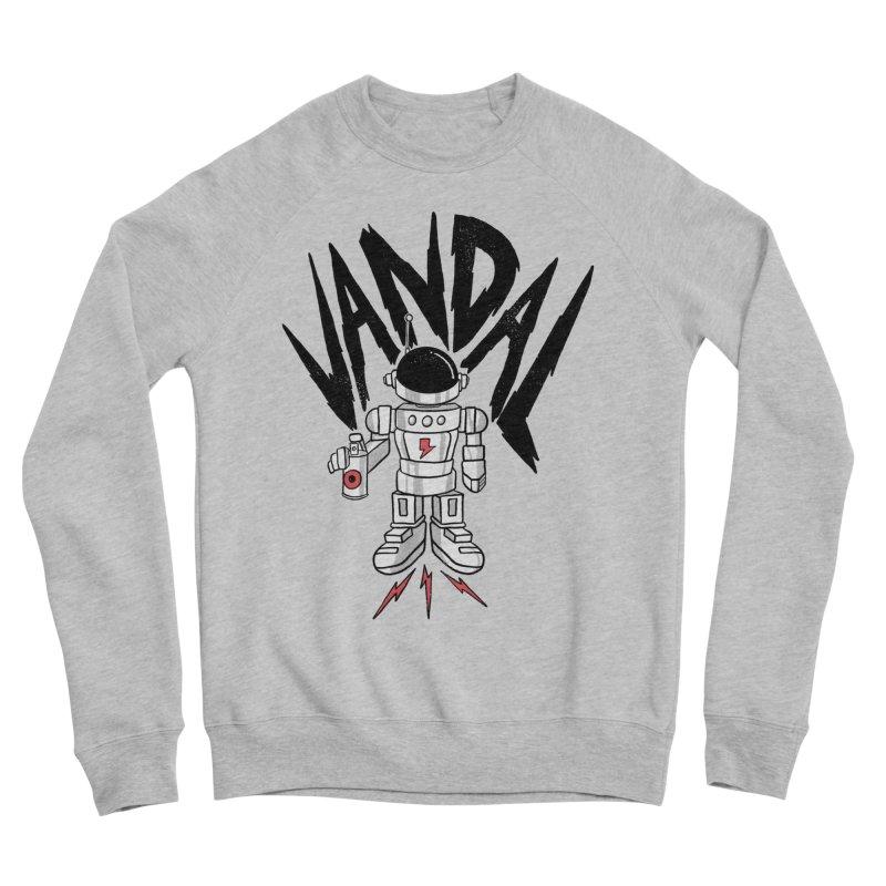 Vandal Men's Sponge Fleece Sweatshirt by RJ Artworks's Artist Shop
