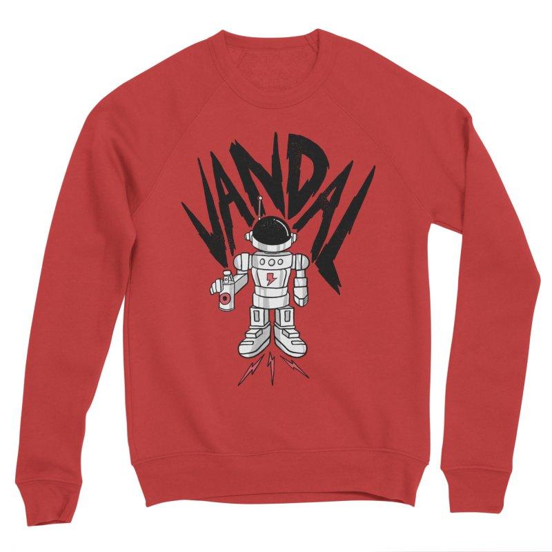 Vandal Women's Sponge Fleece Sweatshirt by RJ Artworks's Artist Shop
