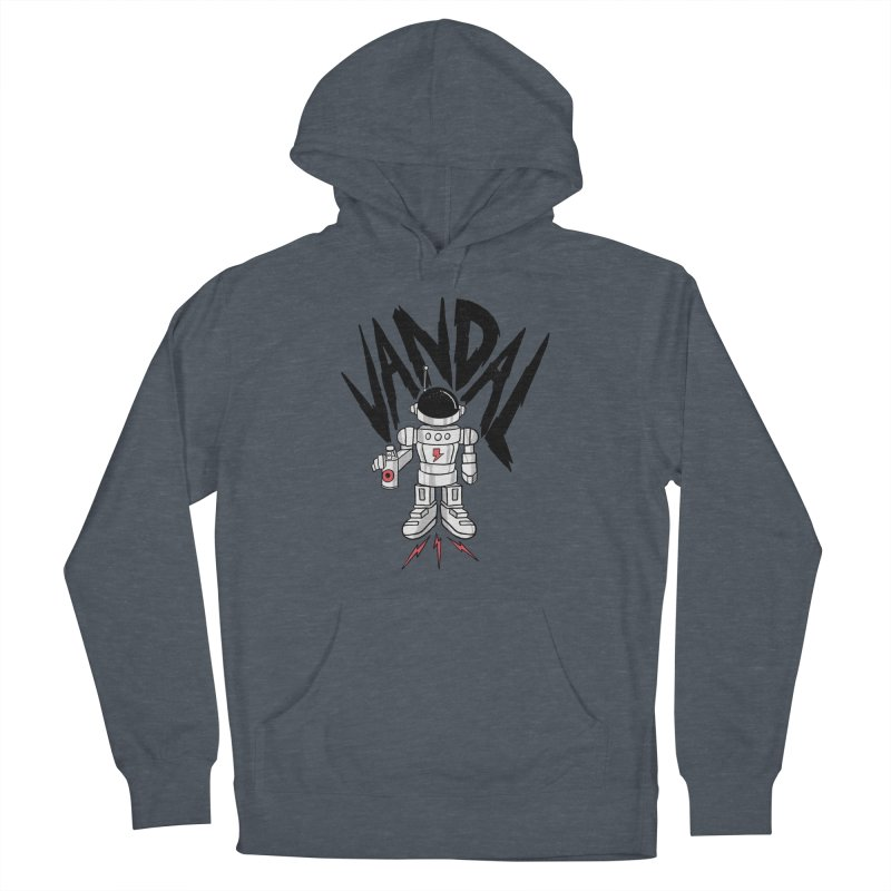Vandal Men's French Terry Pullover Hoody by RJ Artworks's Artist Shop