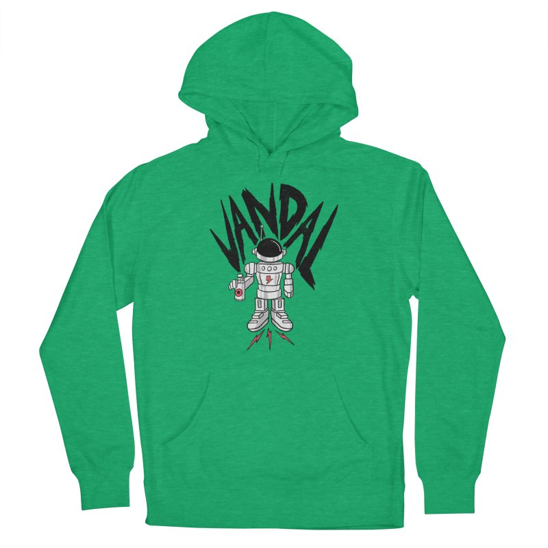 Vandal Women's French Terry Pullover Hoody by RJ Artworks's Artist Shop