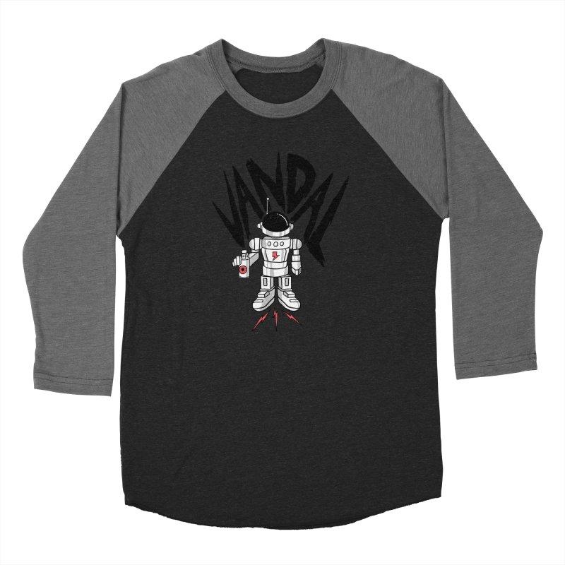 Vandal Men's Baseball Triblend Longsleeve T-Shirt by RJ Artworks's Artist Shop