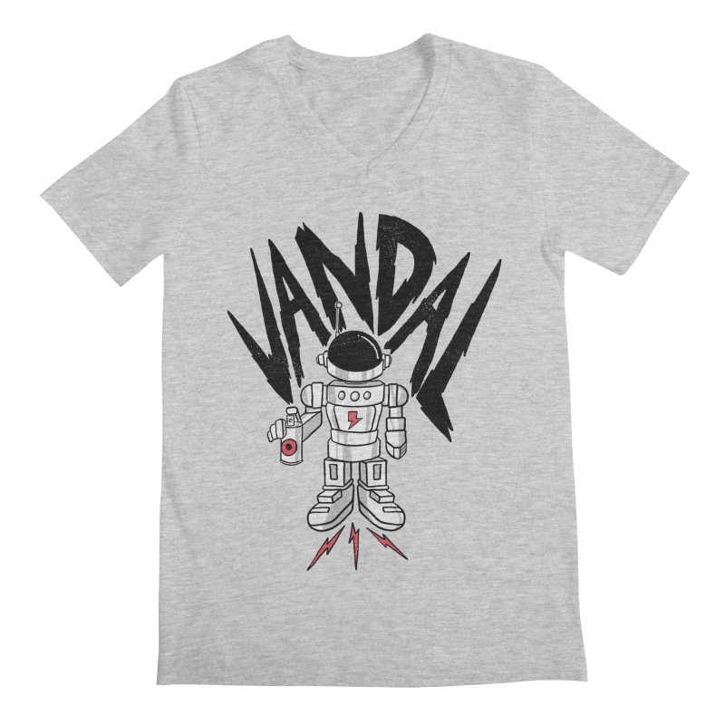 Vandal Men's Regular V-Neck by RJ Artworks's Artist Shop