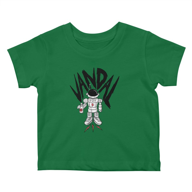 Vandal Kids Baby T-Shirt by RJ Artworks's Artist Shop