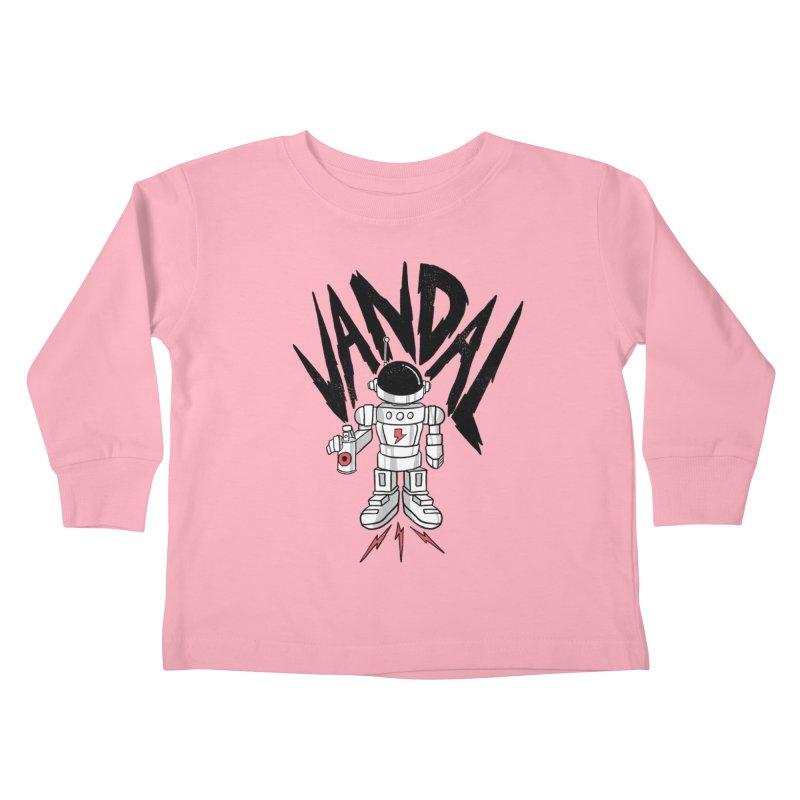 Vandal Kids Toddler Longsleeve T-Shirt by RJ Artworks's Artist Shop