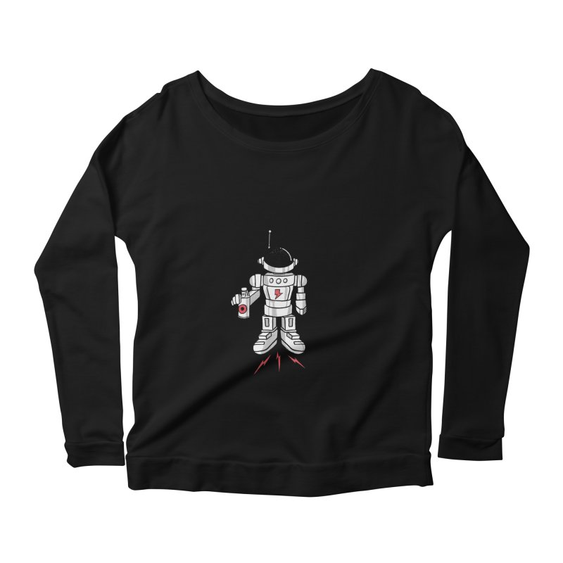 Vandal Women's Scoop Neck Longsleeve T-Shirt by RJ Artworks's Artist Shop